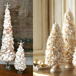 Shell Christmas trees